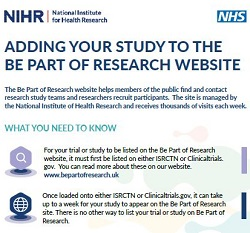 Leaflet for researchers
