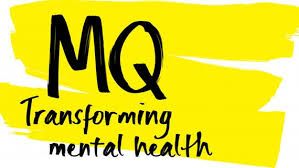 Logo for MQ - Mental health research charity